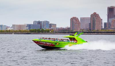 Boat on Hudson River