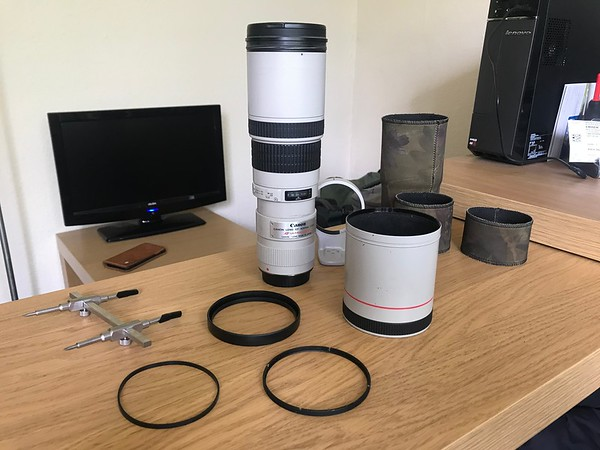 Canon 400mm lens hood repair