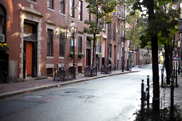 Beacon Hill, an exclusive old-school neighborhood in Boston