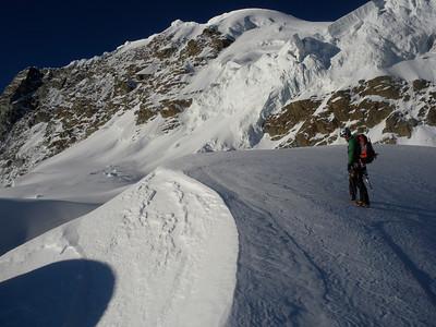 Claudio's pic: upper Triftji Plateau