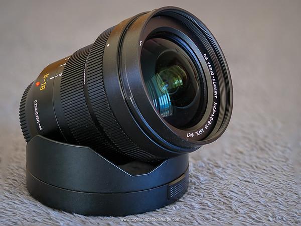 Panasonic Leica DG Vario-Elmarit 8-18mm f2.8-4  lens for Micro Four Thirds (M43)