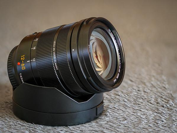 The Panasonic Leica DG Vario-Elmarit 12-60mm f/2.8-4 lens