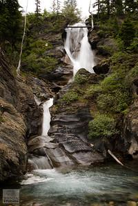 Waterfall in Jasper