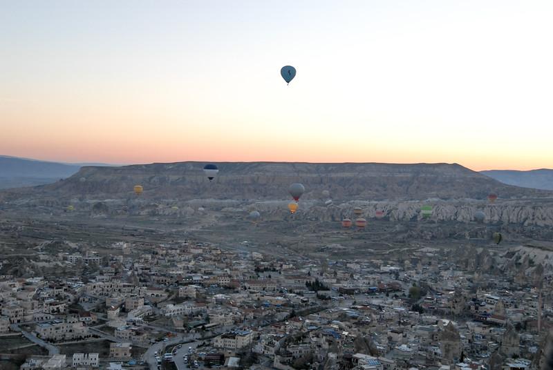 Sunrise over Göreme