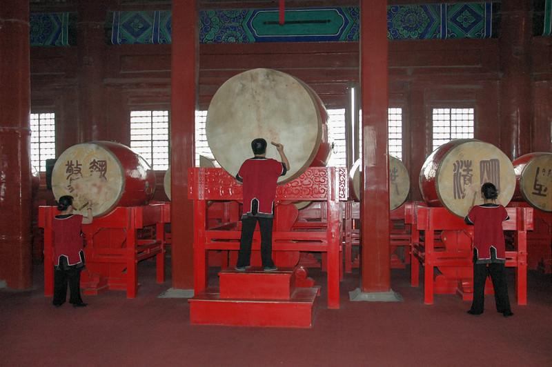 Always banging the same old drum