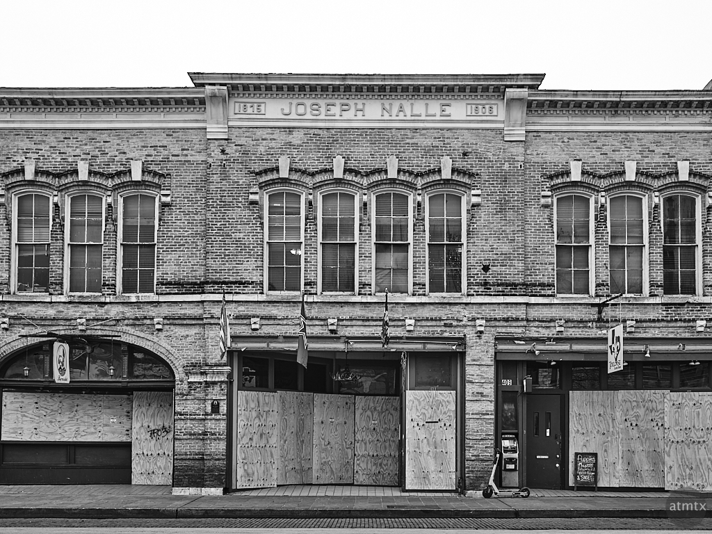 Joseph Nalle, 6th Street - Austin, Texas