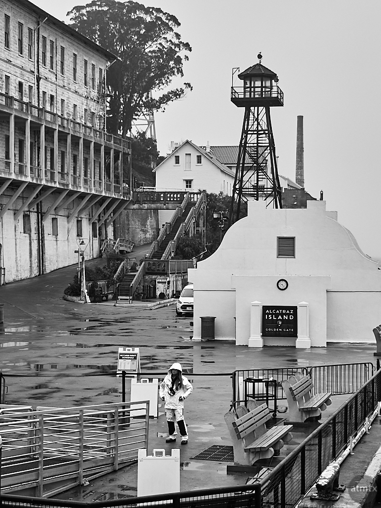 Woman in a Raincoat - San Francisco, California