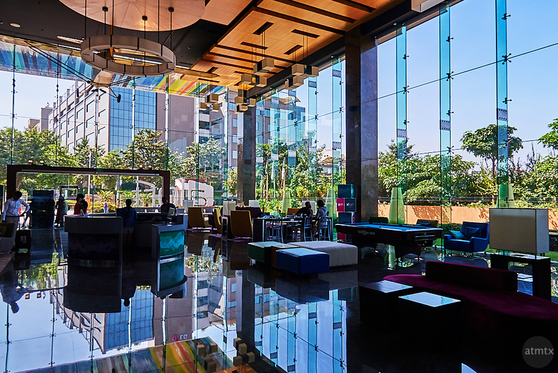 Aloft Lobby Reflections - Bangalore, India