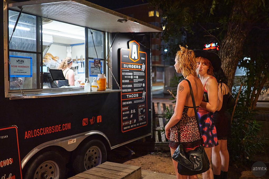 Women at the Food Truck - Austin, Texas