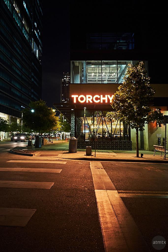 Downtown Torchy's - Austin, Texas (Fuji X-T10)