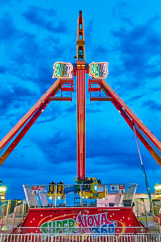 Blue Hour Carnival, Rodeo Austin - Austin, Texas