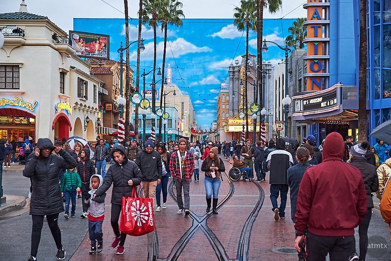 Faux-Hollywood, Disney California Adventure - Anaheim, California