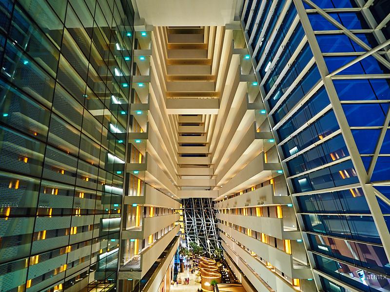Atrium, Marina Bay Sands - Singapore