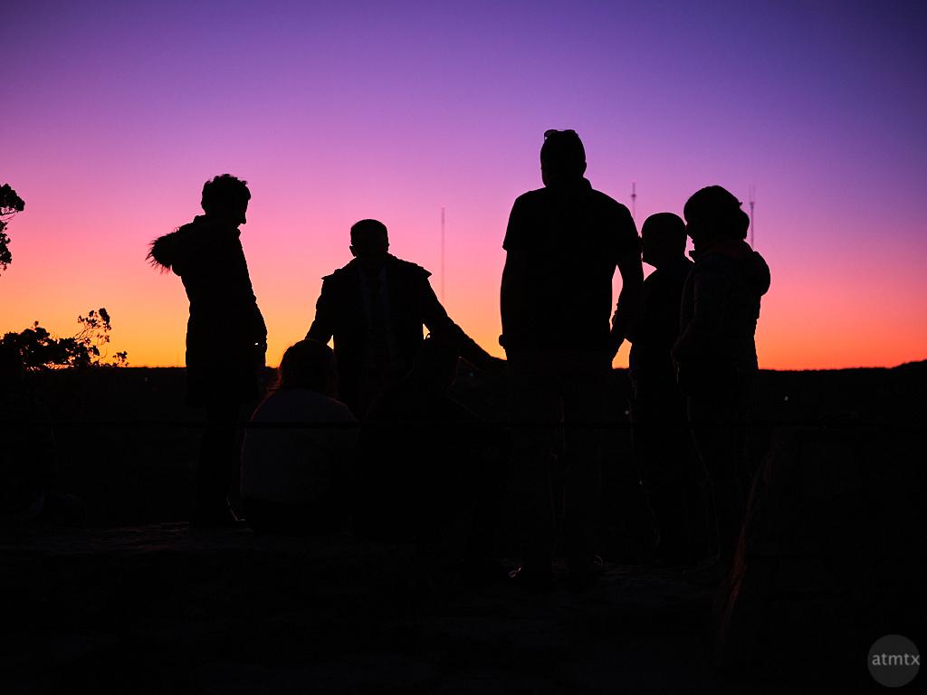 Silhouettes of Friendship - Austin, Texas
