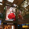 Woman in Red, Changi Airport - Singapore