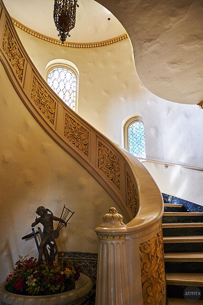 Spiral Staircase, Trinity University - San Antonio, Texas