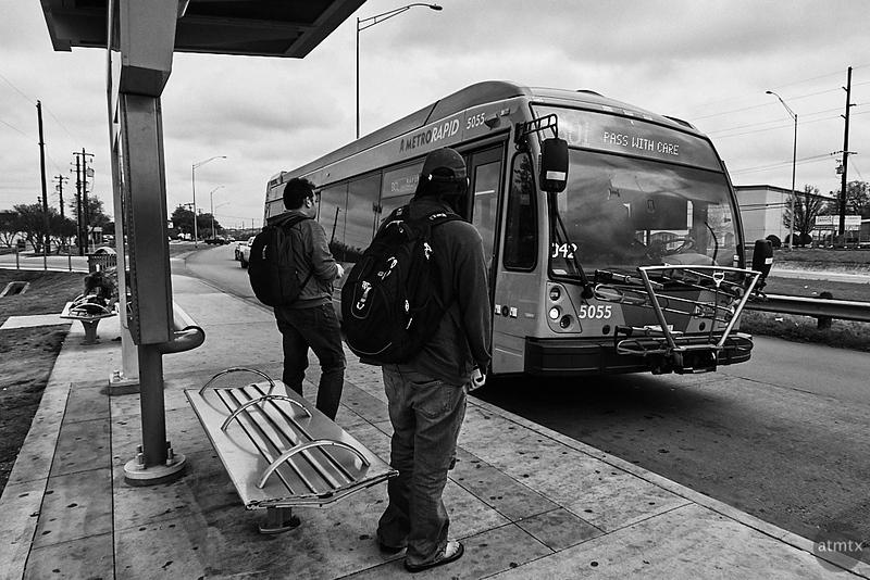 Metro Rapid Bus - Austin, Texas