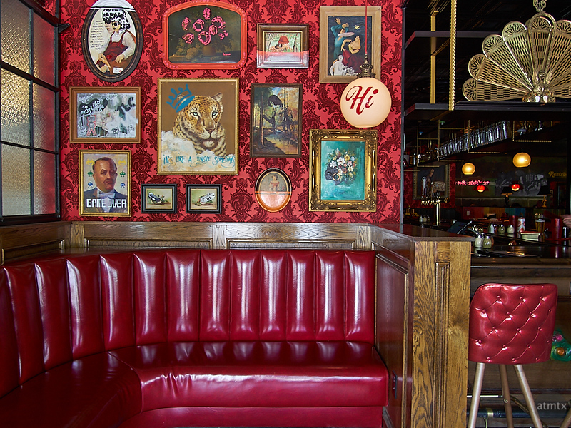Waiting Area, Home Slice Pizza - Austin, Texas