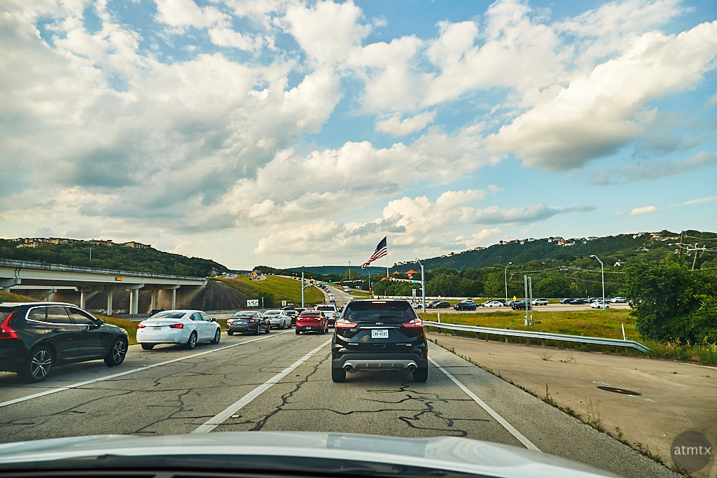 Rush Hour, Loop 360 and FM2222 - Austin, Texas