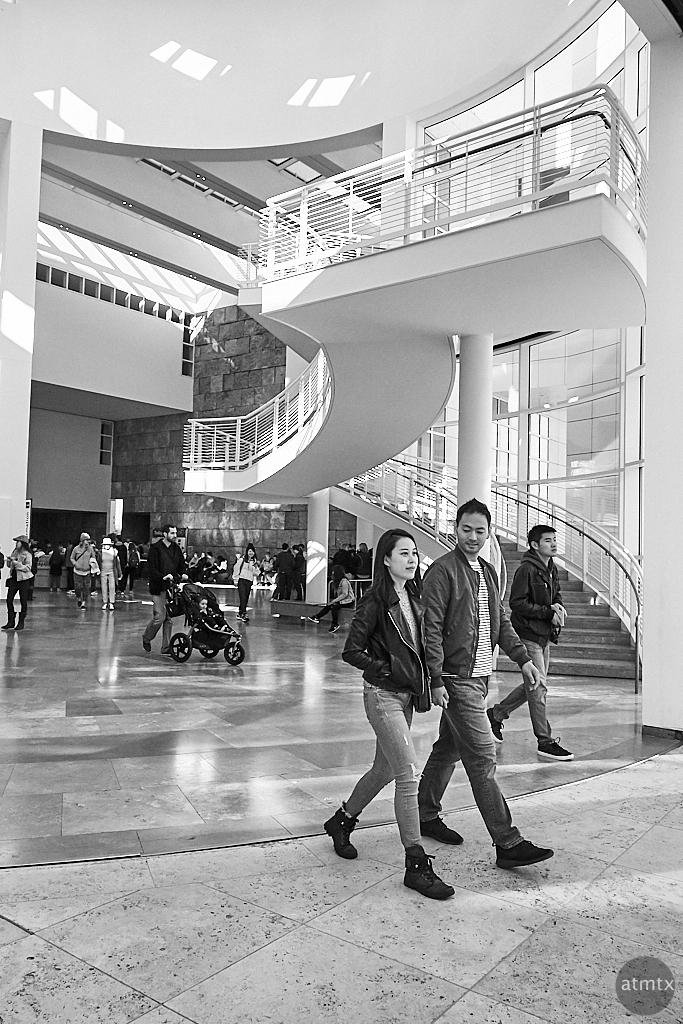 Stylish Couple, Getty Center - Los Angeles, California