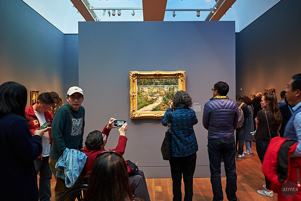Capturing Manet, Getty Center - Los Angeles, California