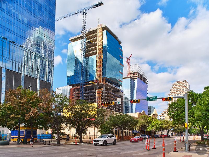 New Construction from Congress Avenue - Austin, Texas