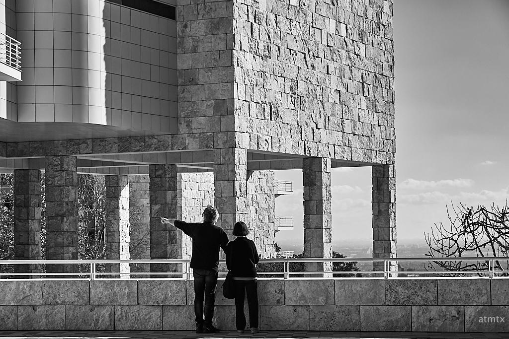 Appreciating Scale, Getty Center - Los Angeles, California