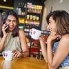 Priya and Sarika, Cafe Life - Bangalore, India