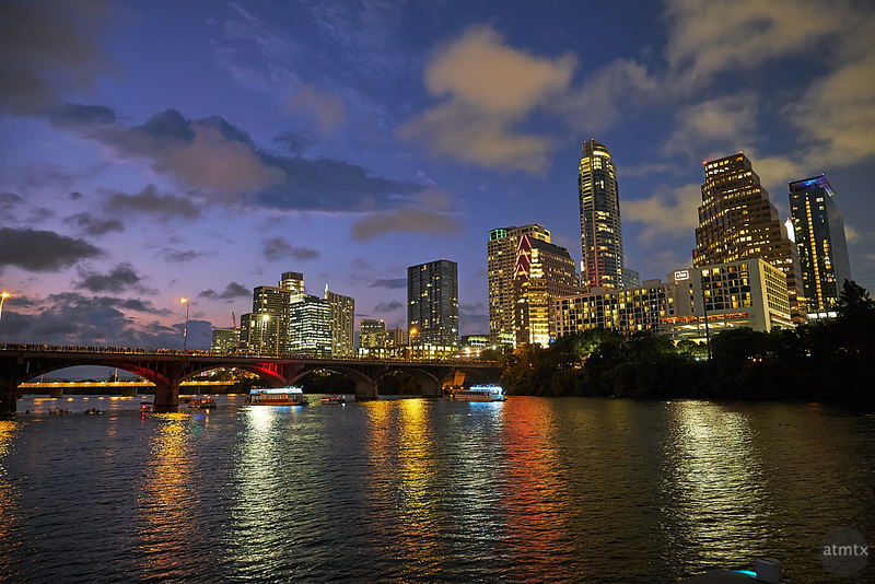 Skyline from Lady Bird Lake - Austin, Texas
