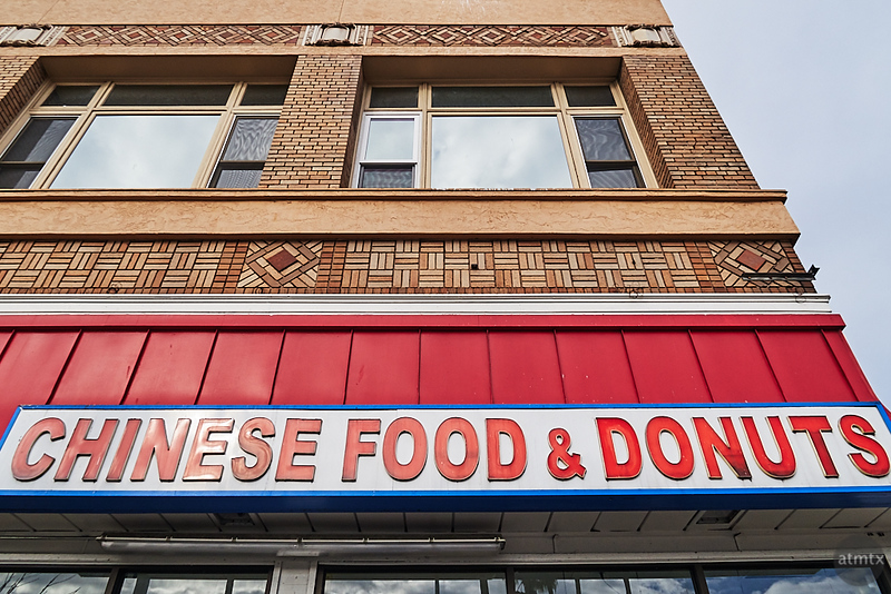 Chinese Food & Donuts - San Francisco, California