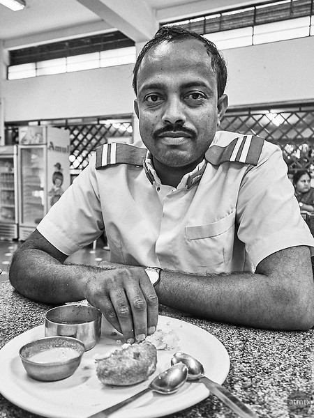 Natraj, Driver - Road to Mysore, India