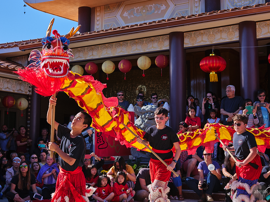 Dancing with the Dragon, Chinese New Year 2020 - Austin, Texas