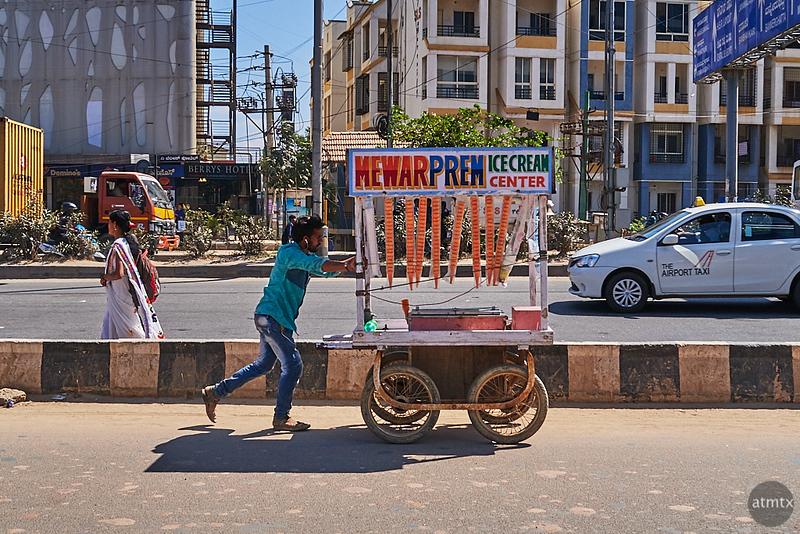 Portable Ice Cream Center - Bangalore, India