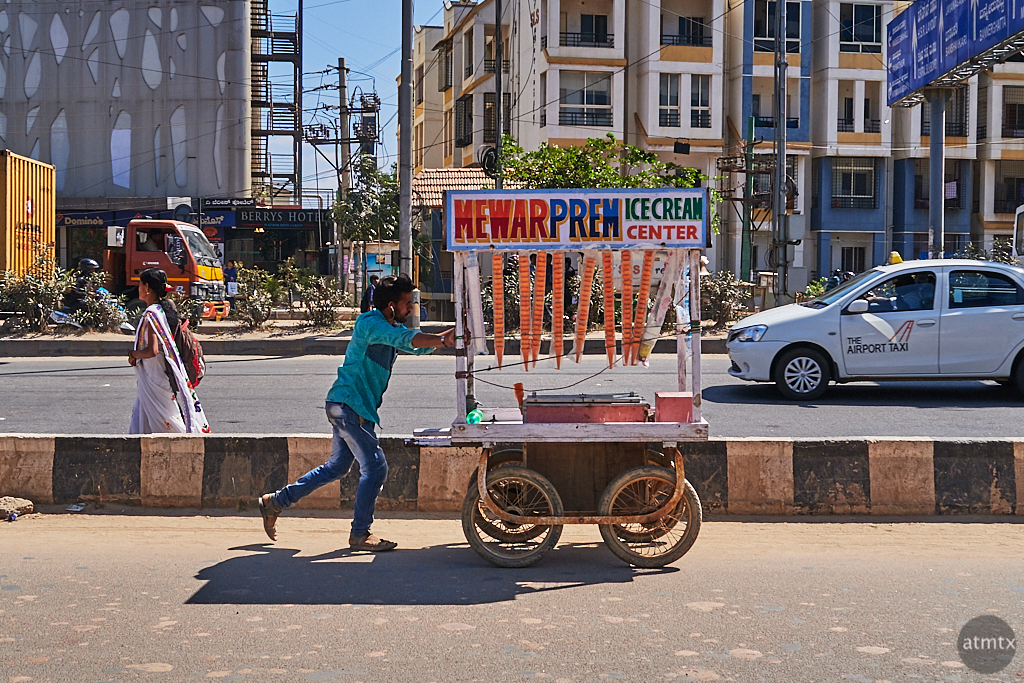 Portable Ice Cream Center - Bangalore, India