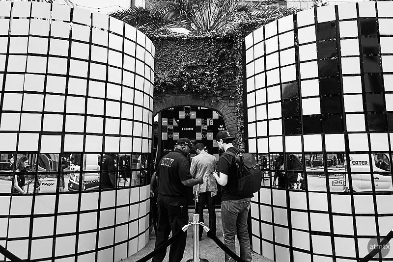 Entrance, Vox Media at SXSW - Austin, Texas