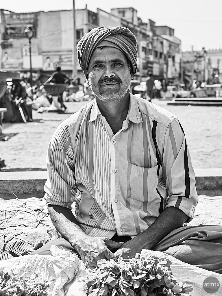 Portrait #3, Devaja Market - Mysore, India