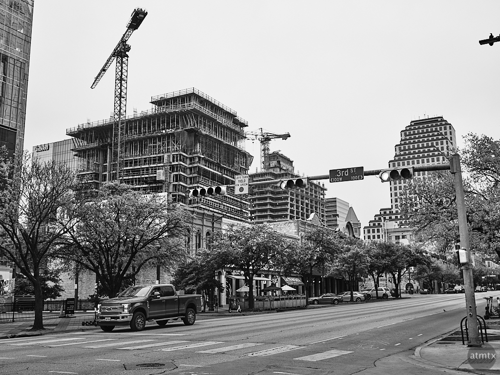 New Construction from Congress Avenue - Austin, Texas