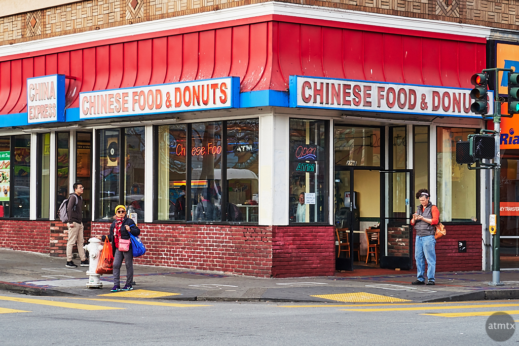 Chinese Food & Donuts - San Francisco, California