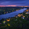 Night Fall, Mount Bonnell - Austin, Texas