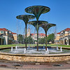 Frog Fountain, TCU - Fort Worth, Texas
