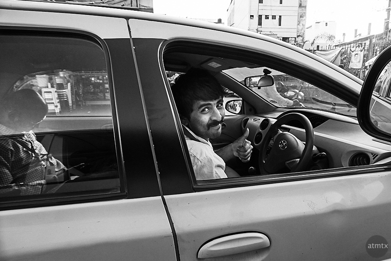 Driver Candid - Bangalore, India