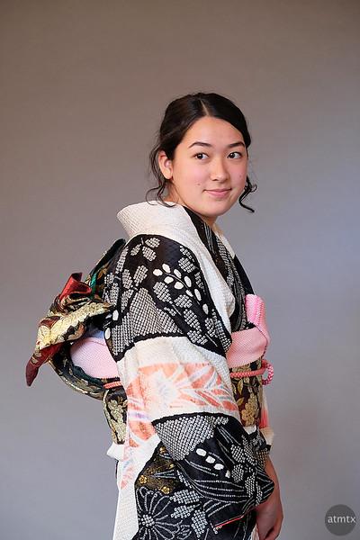 Anna with Kimono - Austin, Texas