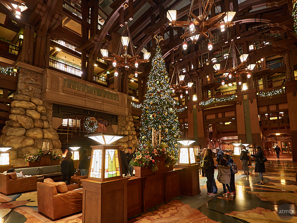 Interior, Disney Grand Californian - Anaheim, California