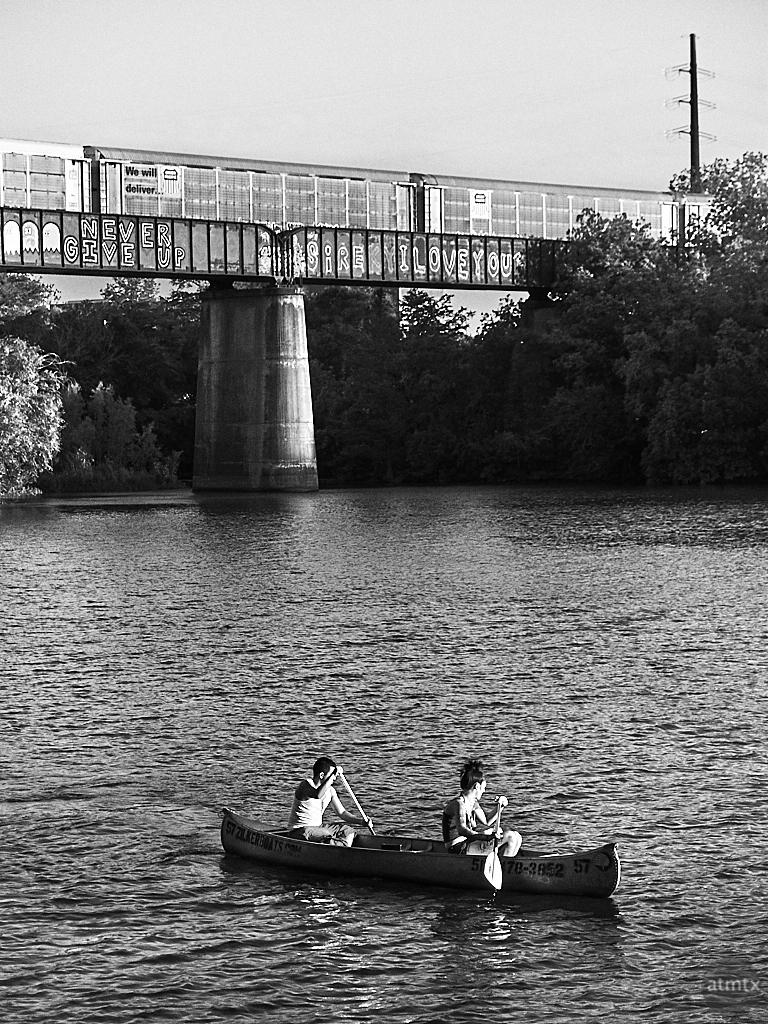 Canoe, Ladybird Lake - Austin, Texas