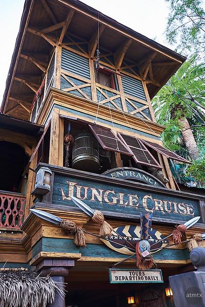 Entrance, Jungle Cruise - Anaheim, California