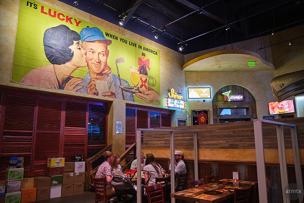 Dining Room, Waterloo Ice House - Austin, Texas