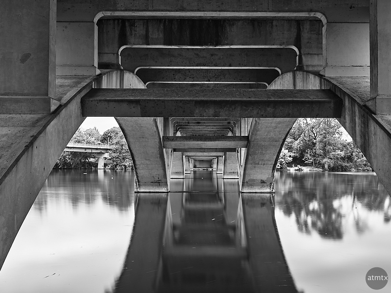 Lamar Blvd Bridge, Underbelly - Austin, Texas