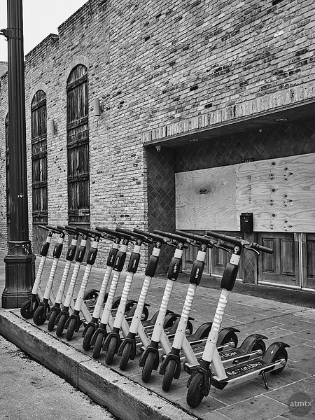 Well Ordered Scooters, 6th Street - Austin, Texas