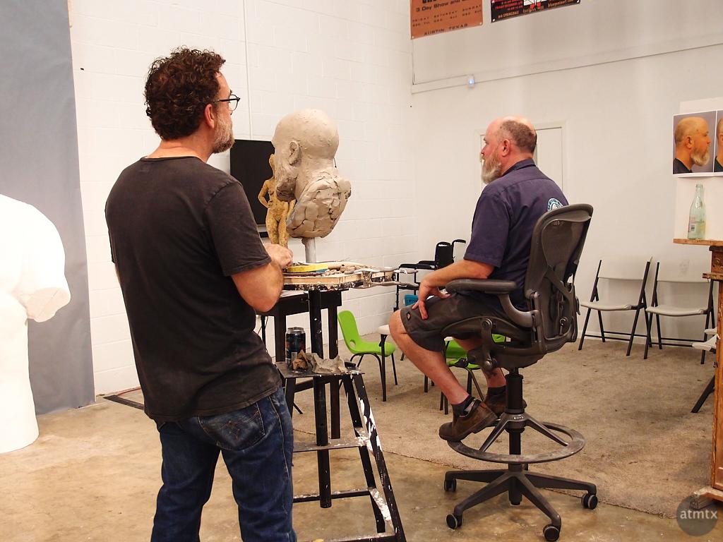 Bust, West Austin Studio Tour - Austin, Texas