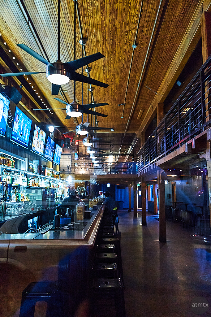 Bar Interior, 6th Street - Austin, Texas